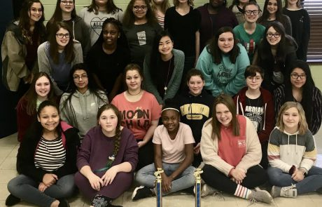 The New Albany Middle School Choir received All-Superior ratings in both Concert and Sight Reading Evaluations at the District I Choral Evaluation on Thursday, February 21. The Choral Instructor is JJ Curry.